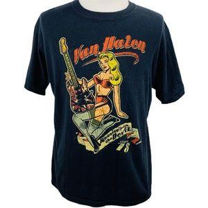 VAN HALEN Concert Tee Shirt 2007 World Tour